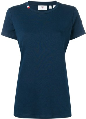 Rossignol stripe crew neck T-shirt