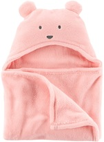Carter's Baby Girl Sherpa Hooded Blanket