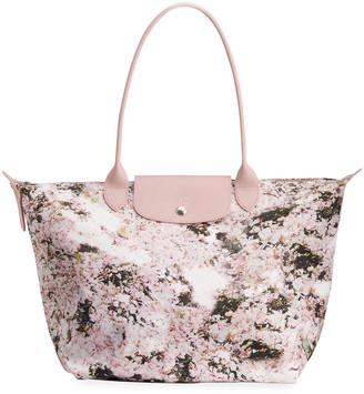 Longchamp Le Pliage Bouquet Large Shoulder Tote Bag