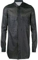 Rick Owens Cotton Overshirt - men - Cotton - 52