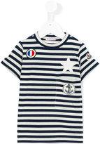 Moncler striped T-shirt - kids - Cotton/Polyurethane/Spandex/Elastane - 2 yrs
