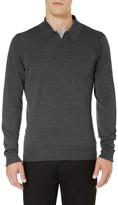 John Smedley Dorset Merino Wool Polo Shirt