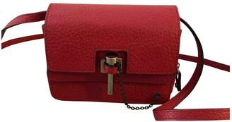 Carven \N Red Leather Handbags