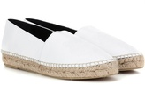 Kenzo Embossed leather espadrilles
