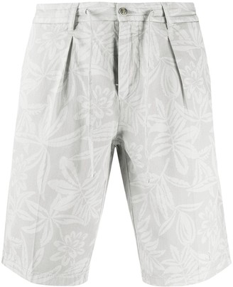 Hackett Floral Print Bermuda Shorts