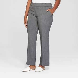 Ava & Viv Women's Plus Size Trouser Pants with Comfort Waistband