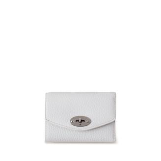 Mulberry Darley Folded Multi-Card Wallet White Heavy Grain