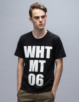 """White Mountaineering WHT MT 06"""" Printed S/S T-Shirt"""
