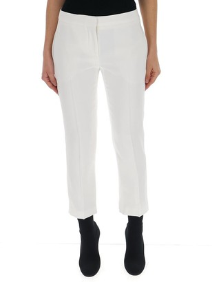 Alexander McQueen Cropped Straight Trousers