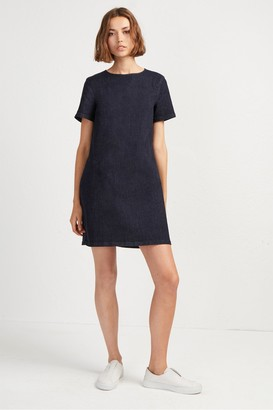 French Connection Eve Denim T-Shirt Dress