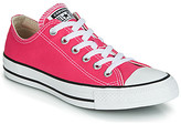 Converse CHUCK TAYLOR ALL STAR SEASONAL COLOR OX women's Shoes (Trainers) in Pink