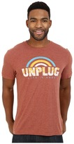 Life is Good Unplug Rainbow Cool Tee