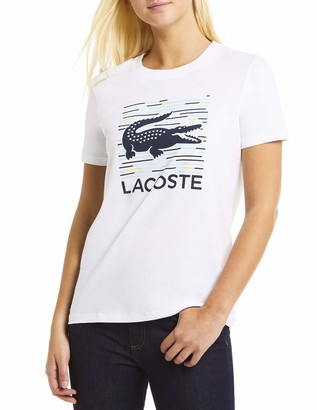 Lacoste Women's Sport Short Sleeve Graphic T-Shirt