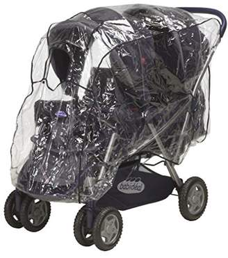 Playshoes Baby Travel Universal Rain Cover for Twin Stroller