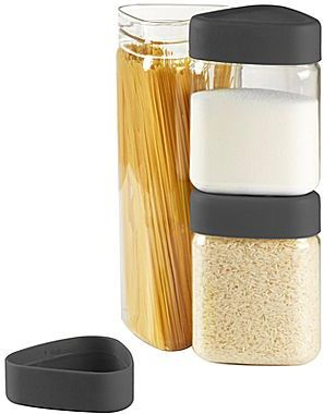 Umbra Set of 3 Tricon Canisters