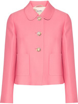Pink Cropped Jacket - ShopStyle