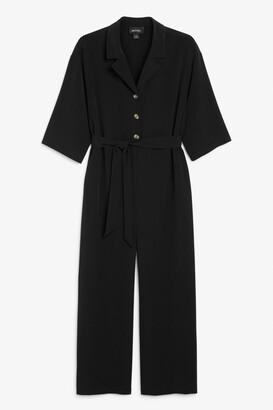 Monki Short-sleeve jumpsuit