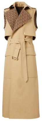 Burberry Sleeveless Trench Coat