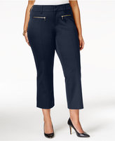 INC International Concepts Plus Size Cropped Pants, Only at Macy's