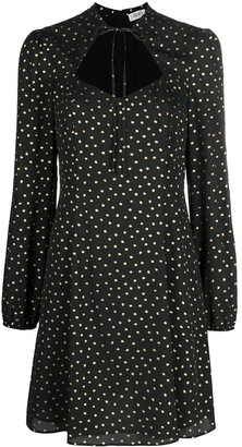 Liu Jo Metallic Polka-Dot Dress