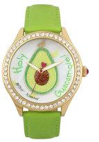 Betsey Johnson Holy Guacamole Watch