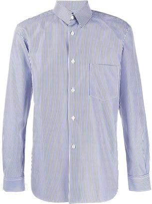 Comme des Garçons Shirt Fitted Striped Shirt