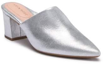 Taryn Rose Madison Metallic Leather Mule