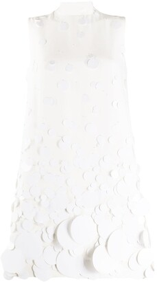 Prada Sequin-Embellished Short Dress