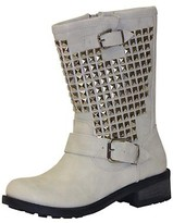 Wanted Shoes Motor Boot in White-SALE!!