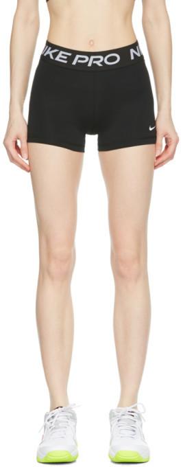 Nike Black Pro 3-Inch Shorts