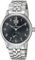 Revue Thommen Men's 16060-2137 Airspeed XLarge Big Date Classic Analog Display Swiss Automatic Silver Watch