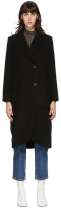 Won Hundred Black Wool Shannon Coat