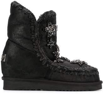 Mou embellished Eskimo boots ShopStyle