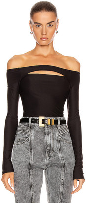 Alix Vasey Bodysuit in Black | FWRD