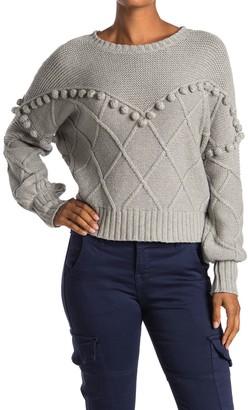 NSF Kaaya Mixed Stitch Sweater