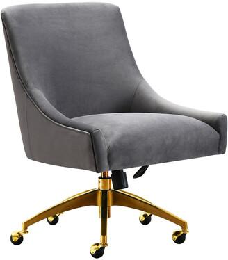Tov Beatrix Grey Office Swivel Chair
