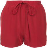Robert Rodriguez drawstring mini shorts