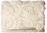 Jessica McClintock Katie Chiffon Rosette Shoulder Bag Clutch Clutch Handbags