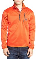 Spyder Men's Stand Collar Fleece Pullover