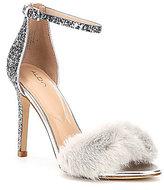Aldo Fiolla Faux Fur Dress Sandals