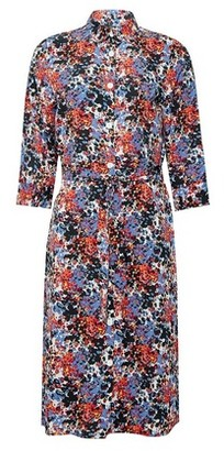 Dorothy Perkins Womens Only Multi Colour Floral Print Shirt Dress, Multi Colour