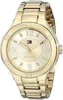 Tommy Hilfiger Women's 1781446 Analog Display Quartz Gold Watch