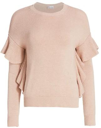 RED Valentino Ruffle Sweater