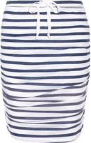 Splendid Striped stretch-jersey skirt