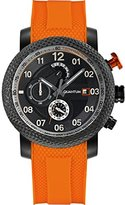 Quantum Hunter Men's Quartz Watch with Chronograph Quartz Silicone pwg484.650