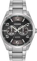Citizen Ao9020-84e Eco-drive Silver Bracelet Solar Watch