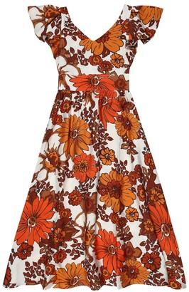Dodo Bar Or Kids Floral dress