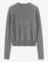 Toast Cashmere/Wool Button Sweater