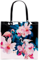 Ted Baker Cammcon Orchid Wonderland Large Icon Bag