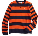 Lacoste Boy's Stripe Sweater